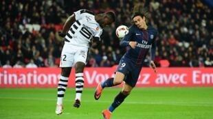 PSG - Rennes, no dia 6.11.2016