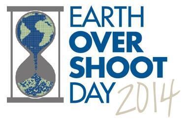 "Logo của ngày ""Earth Overshoot Day"""