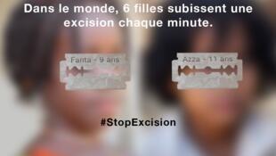 Campanha contra a mutilação genital feminina é lançada na França.