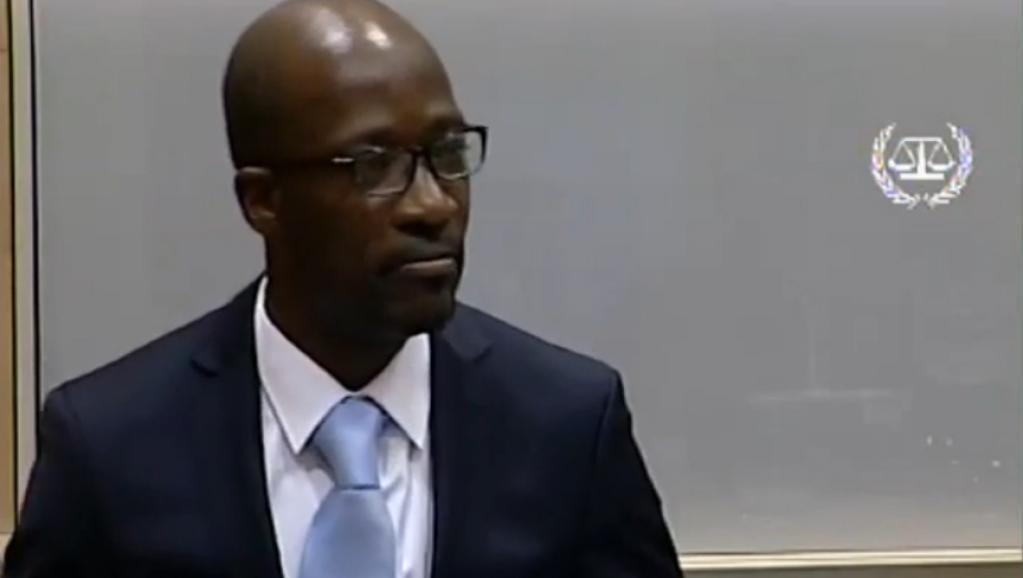 Charles Blé Goudé, mbele ya Mahakama ya kimataifa ya Jinai ICC, Oktoba 2 mwaka 2014.