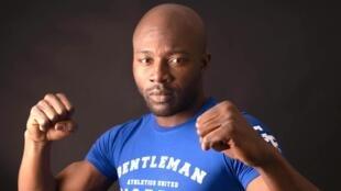 Enoch Effah, triple champion du monde de Savate boxe française.