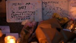 2020-10-18 france conflans sainte honorine teacher samuel paty murder beheading islamist