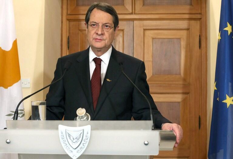 Le président chypriote Nicos Anastasiades.