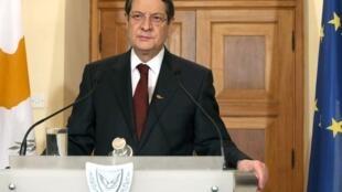 Nikos Anastasiadis a été récemment élu à la tête de l'Etat chypriote.