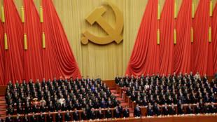 El presidente chino, Xi Jinping, ante los delegados del XIX Congreso del Partido Comunista Chino.