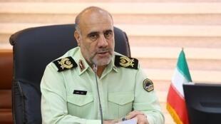 Hossein Rahimi_chef de police de Teheran