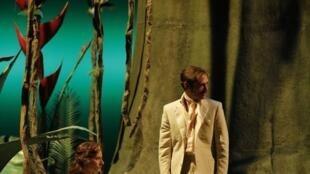 Marie Rémond et Glenn Marausse, lors des répétitions de «Soudain l'été dernier».