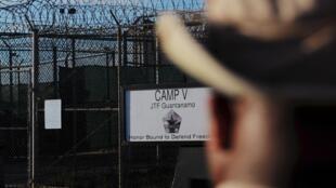 "The ""Camp Five"" detention facility at US naval base Guantanamo Bay in Cuba"