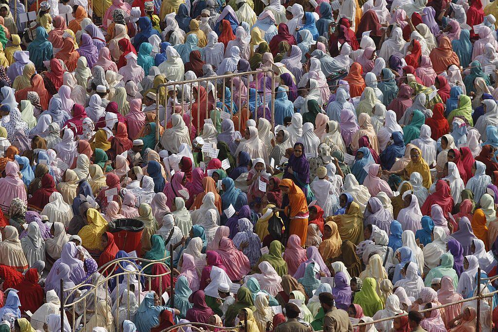 Femmes de la communauté Bohra en Inde (Photo d'illustration).