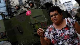 A ação de militares é contestada no Brasil.
