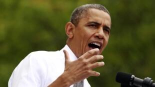 Discurso do presidente dos Estados Unidos, Barack Obama, nesta segunda-feira em Ohio.