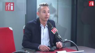 Ian Brossat, porte-parole du PCF, adjoint à la Mairie de Paris sur RFI, le 20 novembre 2019.