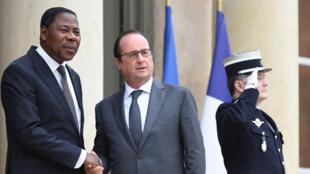 Lors d'une réunion pré-COP 21 le 10 novembre, François Hollande avait, entre autres dirigeants africains, reçu son homologue béninois Boni Yayi.