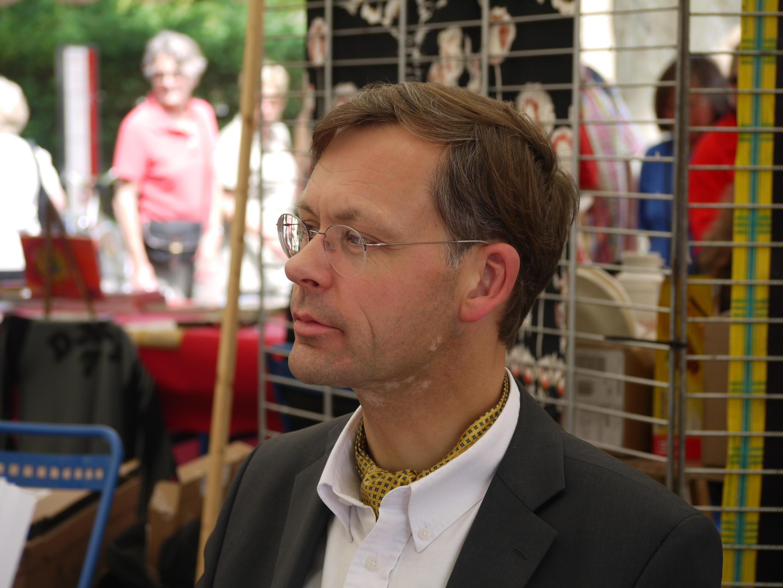 Jacques Arnould en dédicace à la Comédie du Livre en 2009