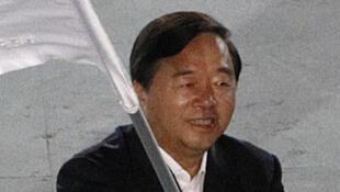 Ji Jianye, le maire de Nankin (ici en 2010) a été placé sous «enquête disciplinaire interne» par le parti  communiste chinois pour des affaires de corruption présumées.