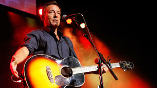 Bruce Springsteen performs at Madison Square Garden in New York in November 2013