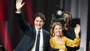 2019年10月,加拿大自由黨在立法選舉中獲勝,特魯多再次出任總理。