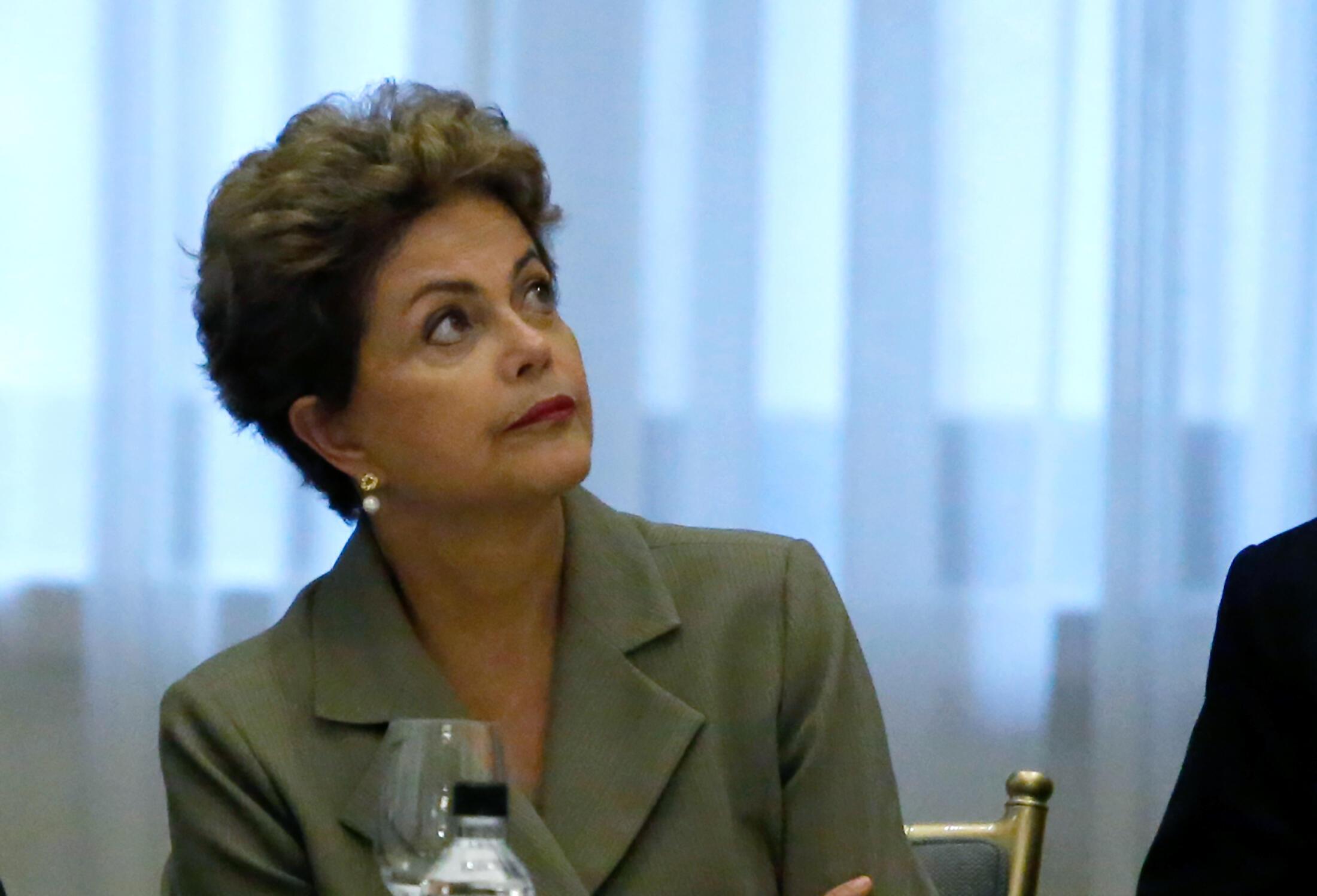 Shugaban Brazil  Dilma Rousseff