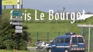 O aeroporto Bourget é utilizado principalmente para chegada de aviões privados