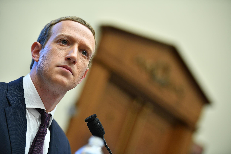 Foto de archivo tomada el 23 de octubre de 2019 del presidente y consejero delegado de Facebook, Mark Zuckerberg, en Washington, DC