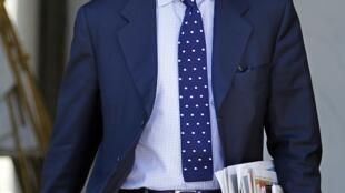Министр-делегат по вопросам бюджета Франции Жером Каюзак, Париж,  25 июля 2012 года