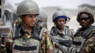 Wanajeshi wa Kenya katika vikosi vya Amisom nchini Somalia
