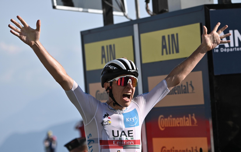 2020-09-13 tour de france Tadej Pogacar vainqueur 15e etape cyclisme sport