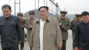 朝鮮領導人金正恩。