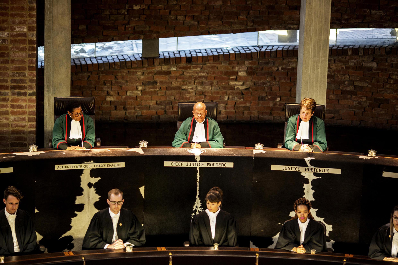 C'est le vice-président de la Cour constitutionnelle sud-africaine, Raymond Zondo, qui va dirigée la commission d'enquête  (image d'archives)
