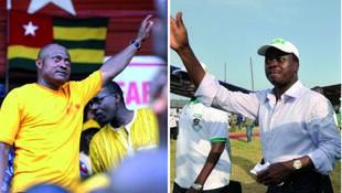 Shugaban babbar jam'iyyar adawa ta Togo  Jean-Pierre Fabre da shugaba Faure Gnassingbé.