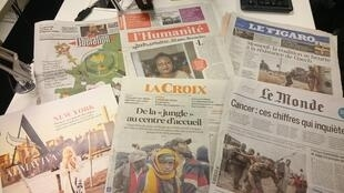 Diários franceses 25.10.2016