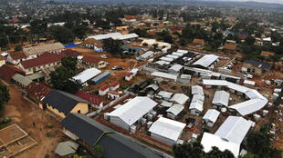 (illustration) Vue aérienne d'une partie de la ville de Béni, Nord-Kivu, en République démocratique du Congo.