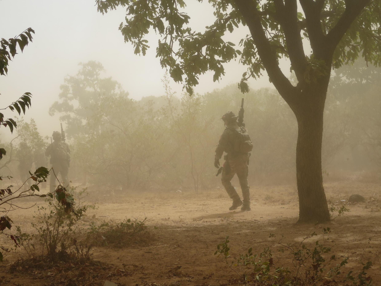 Бойцы французского спецподразделения в регионе Сахель.