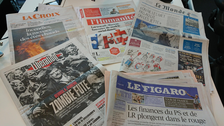Diários franceses 18.07.2017