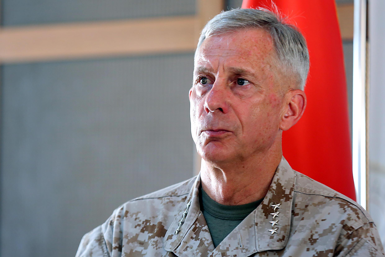 Le chef du commandement américain pour l'Afrique (Africom), le général Thomas Waldhauser.