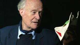 Le cinéaste et ethnologue Jean Rouch, en 2003.