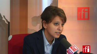 Najat Vallaud-Belkacem, ministre des Droits des femmes, de la Ville, de la Jeunesse et des Sports.