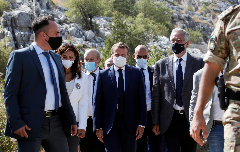 Emmanuel Macron s'est rendu à Beyrouth en début de semaine.