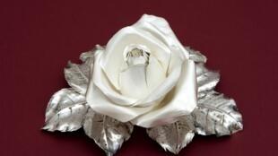 Rosa creada por Juan Carlos Pallarols.