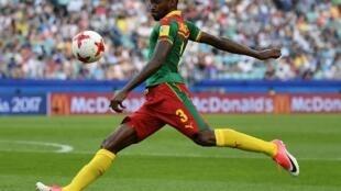 Zambo-Anguissa lors de la Coupe des Confédération en juin 2017.