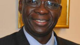 Luc Adolphe Tiao, nouveau Premier ministre du Burkina Faso, le 18 avril 2011.