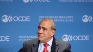 Angel Gurria, secrétaire général de l'OCDE, le 29 octobre 2012.