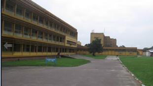 L'hôpital général de Brazzaville.