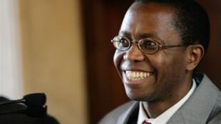 Le chef de la rébellion hutu rwandaise des FDLR Ignace Murwanashyaka, ici à Rome en 2005.