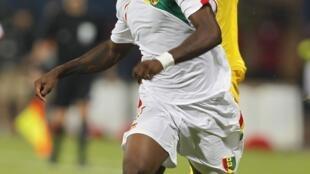 Le Guinéen Abdoul Razzagui Camara face au Mali.