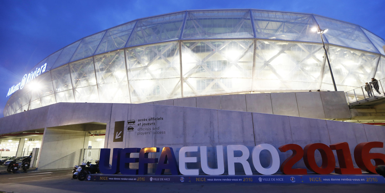Nice Stadium in France