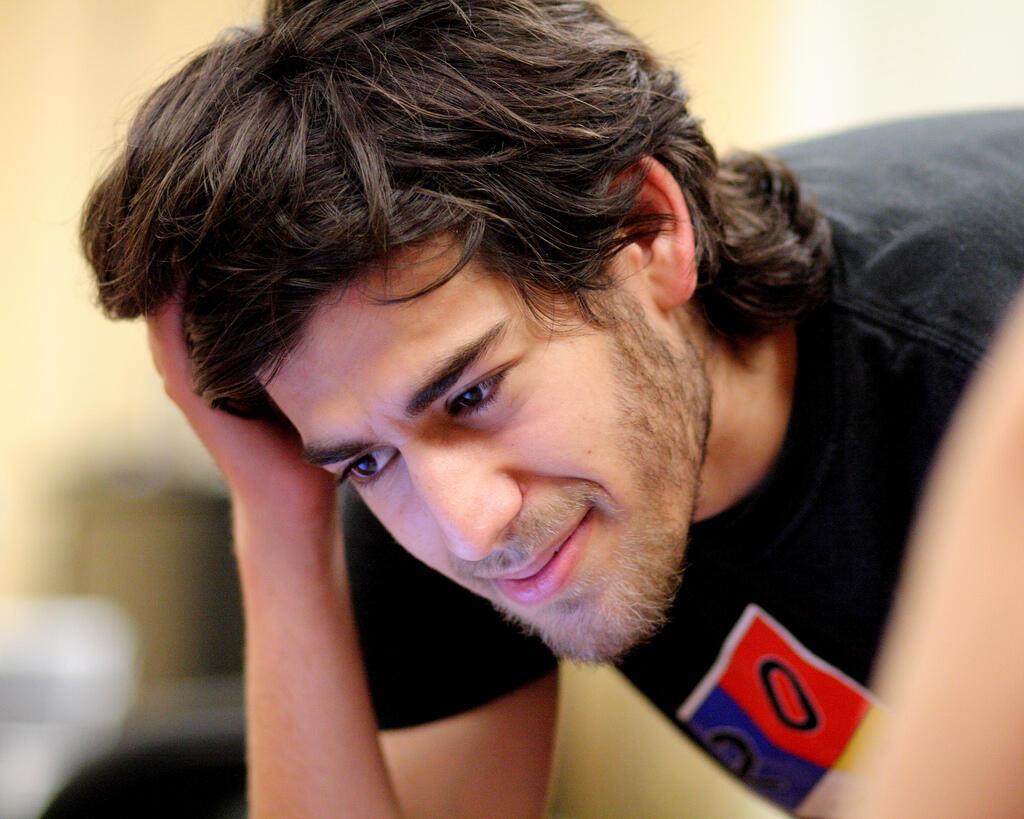 Aaron Swartz, en août 2009.