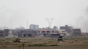 Depuis une dizaine de jours, Tikrit est le théâtre du conflit qui oppose l'armée irakienne à l'EI.