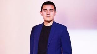 Ivan Argote, artista colombiano, 2018.