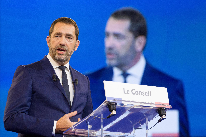 Christophe Castaner, French Interior Minister, 16 October 2018